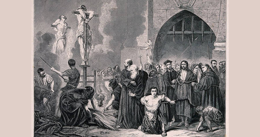 Spanish Inquisition Crucifixion