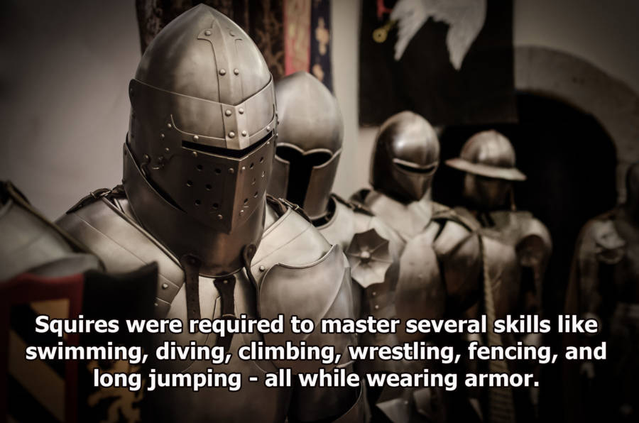 Helmets Of Knights