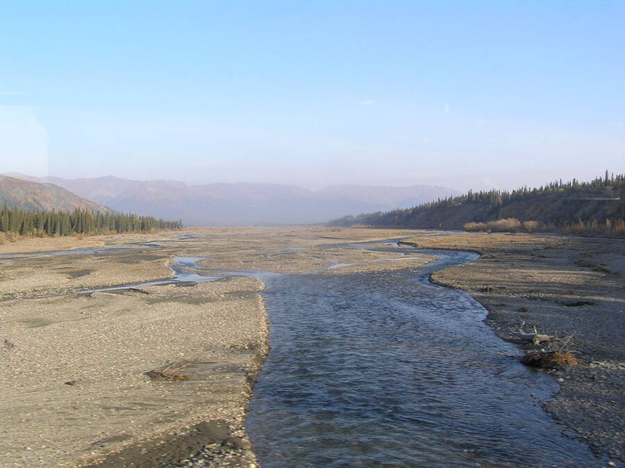 Teklanika River Crossing