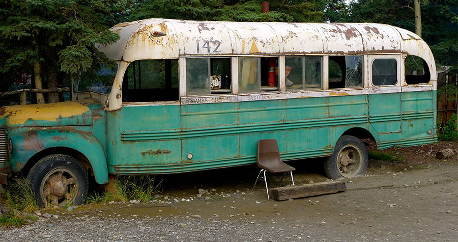 The Abandoned Bus At Stampede Trail