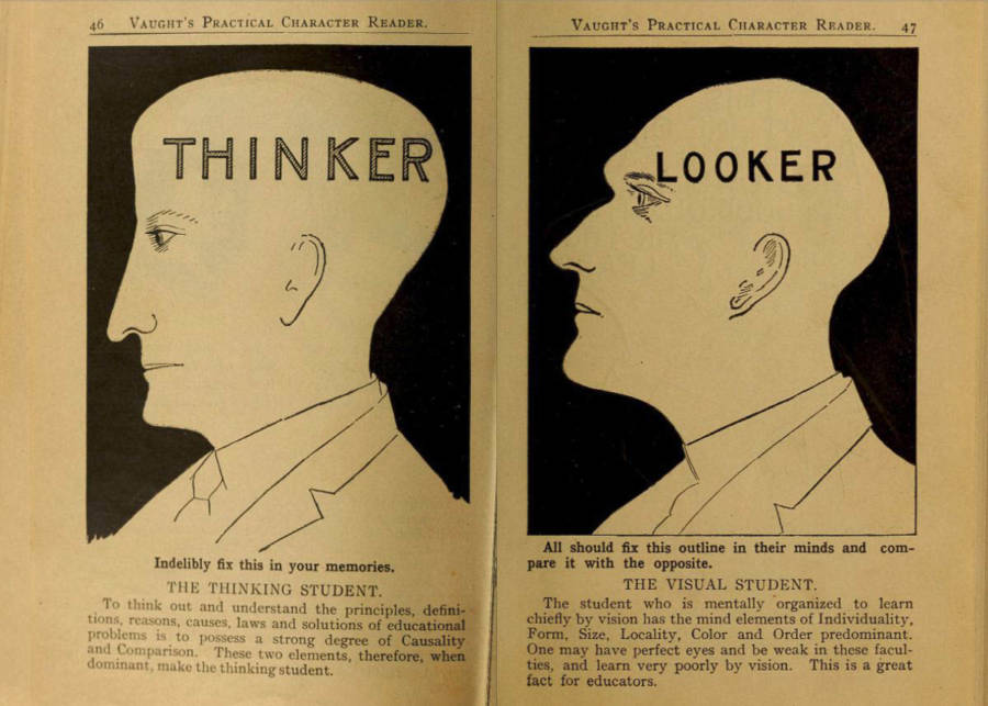 Thinker Vs. Looker