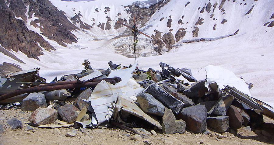 Uruguayan Air Force Flight 571 Crash Site