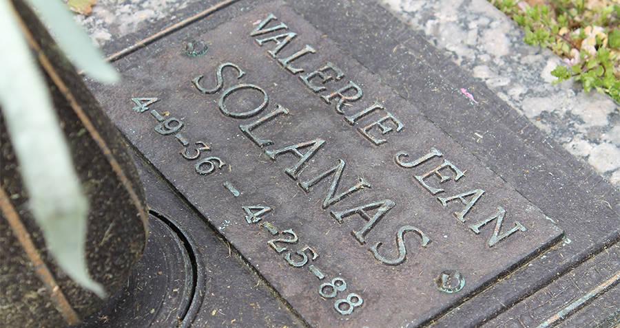 Valerie Solanas Grave