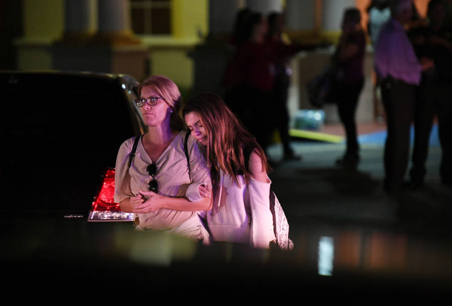 Victims Outside Hotel