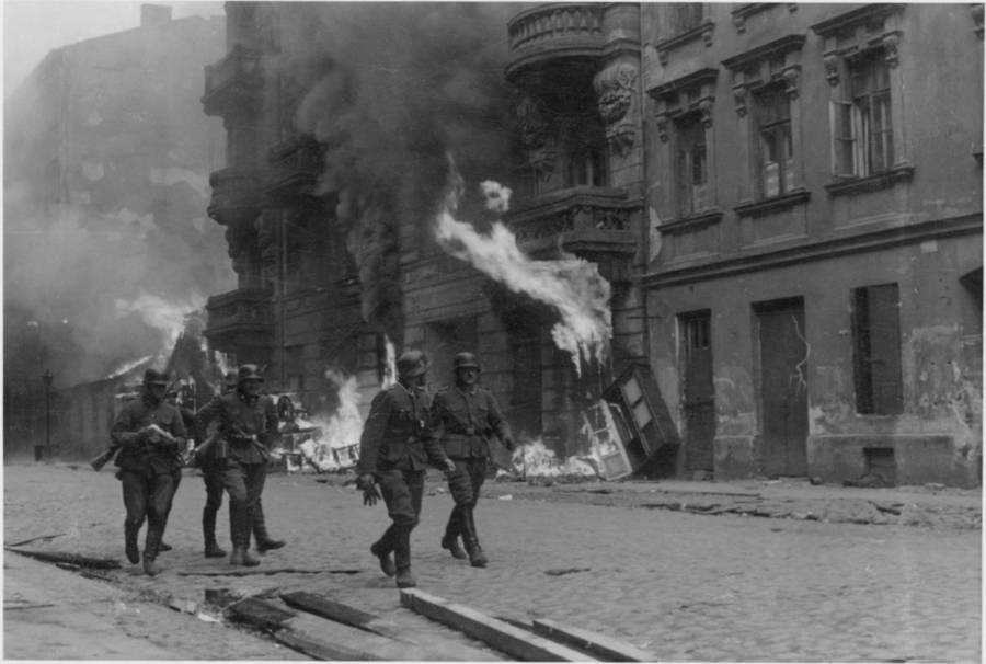Warsaw Ghetto Burning