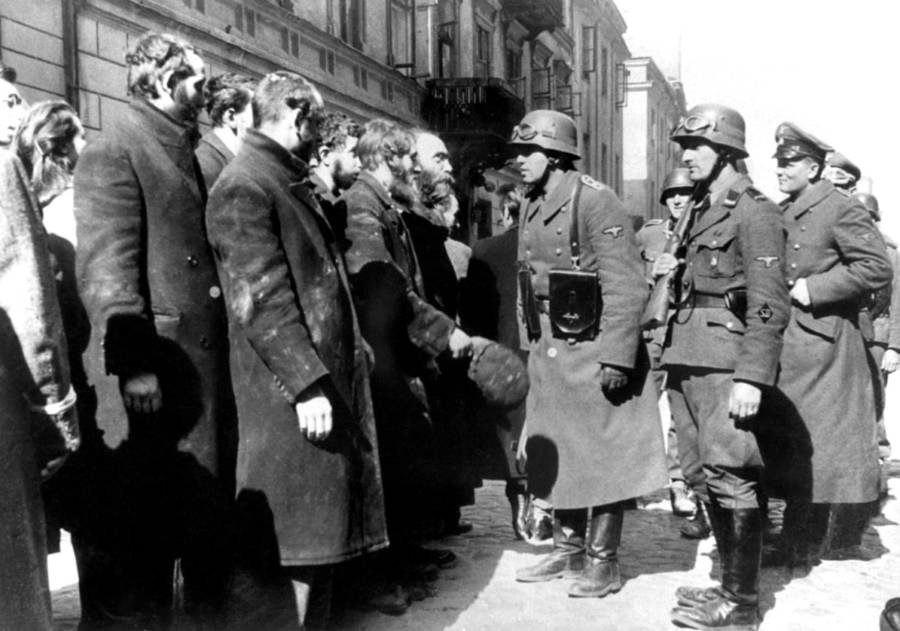 Warsaw Ss Interrogration