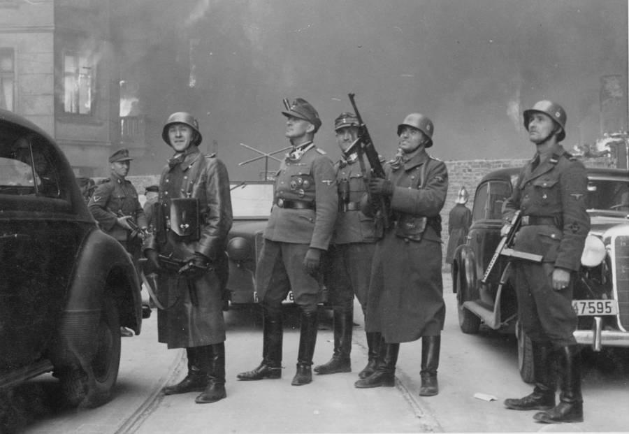 Warsaw Uprising Josef Blosche