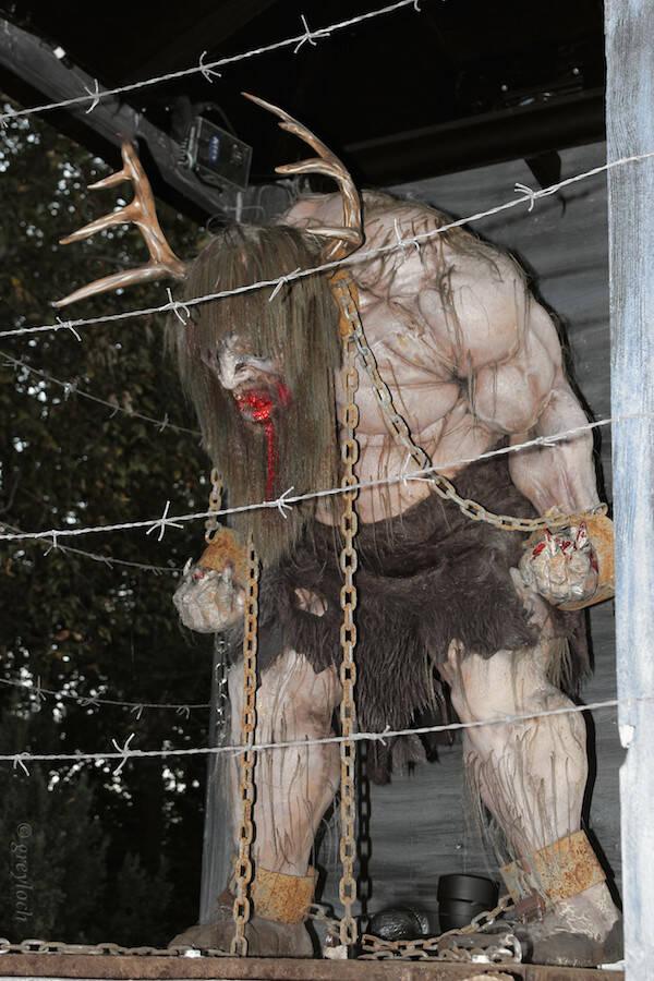 Wendigo In A Cage
