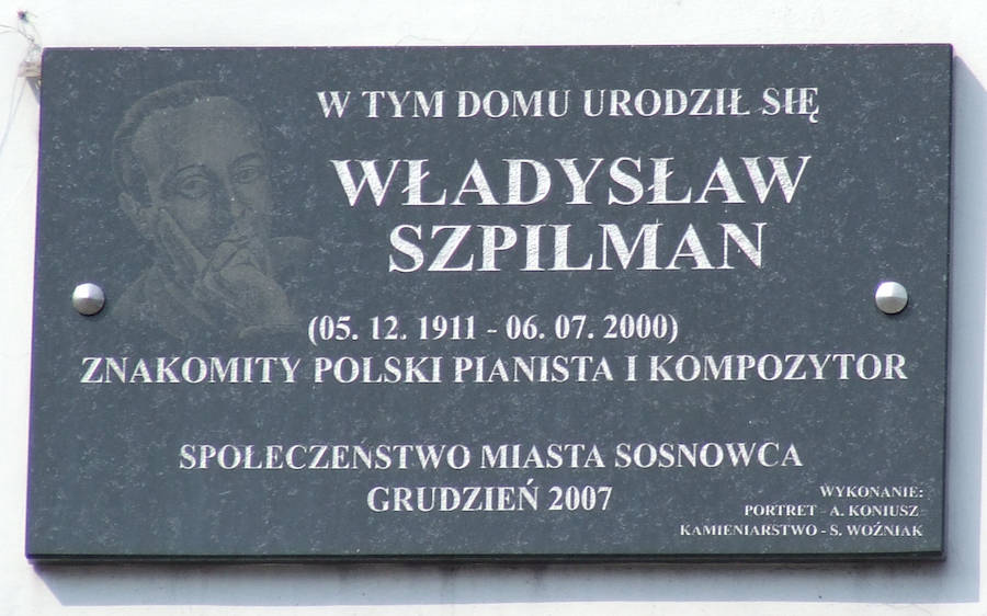 Wladyslaw Szpilman Headstone