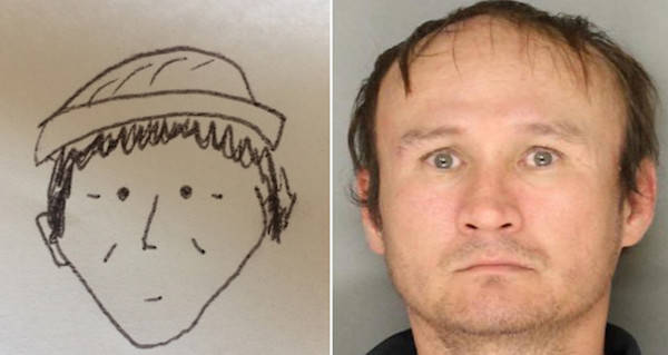 Worst police sketch and suspect