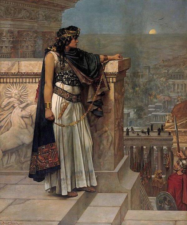 Zenobia Painting