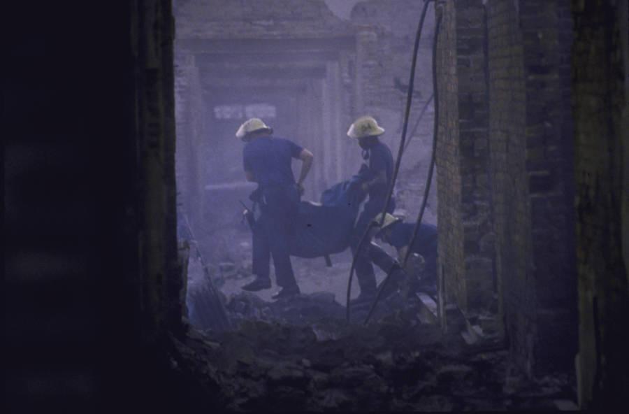 MOVE Bombing Bodies