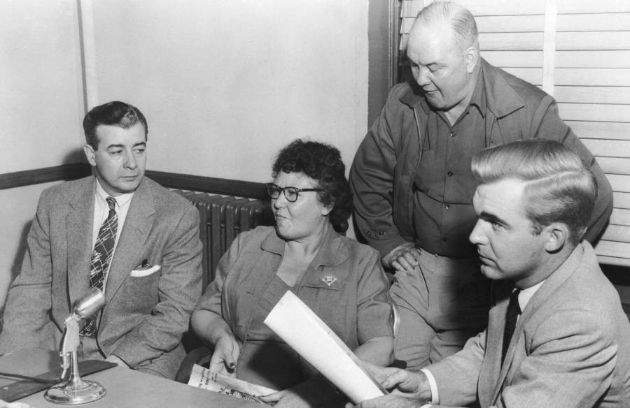 Nannie Doss In Court