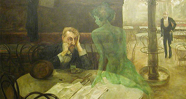 how to drink absinthe to hallucinate
