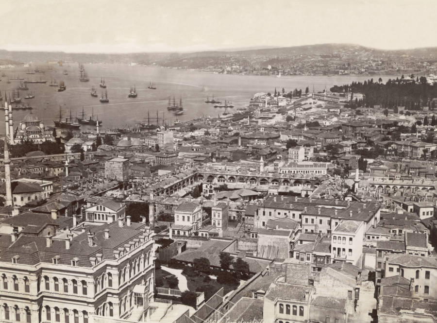 Aerial View Of Constantinople