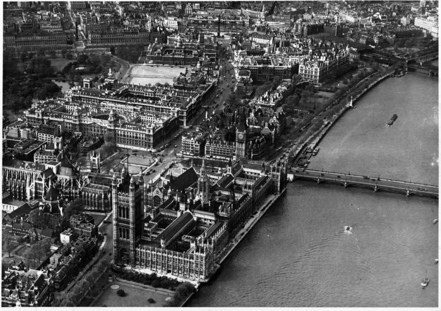 Aerial Photo Of Thames