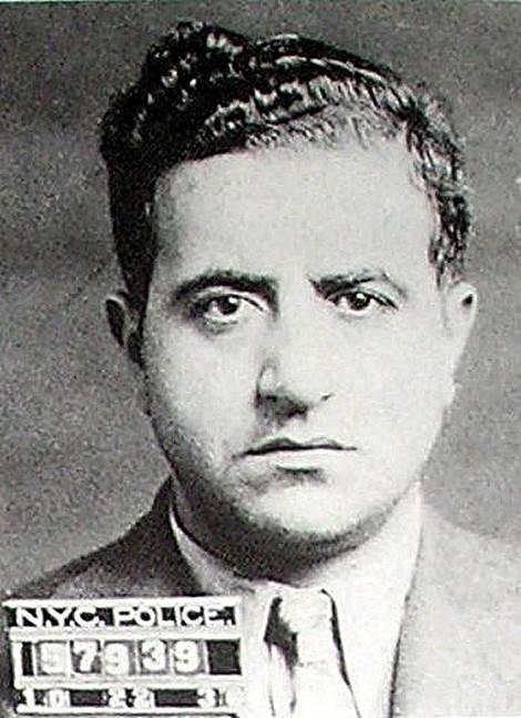 Albert Anastasia Mugshot