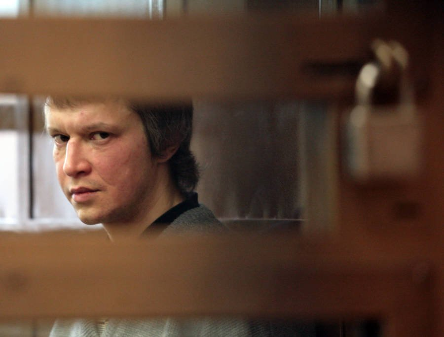 Alexander Pichushkin Looking Through Bars