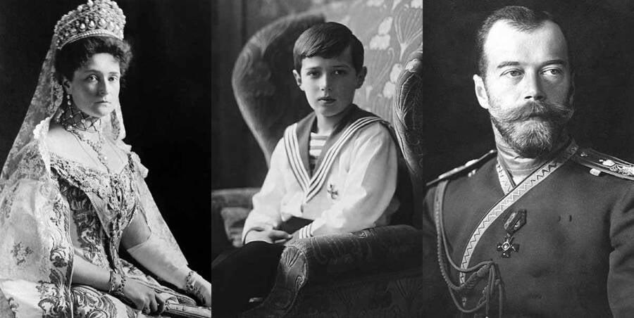 Alexandra Alexei Nicholas Ii Of Russia