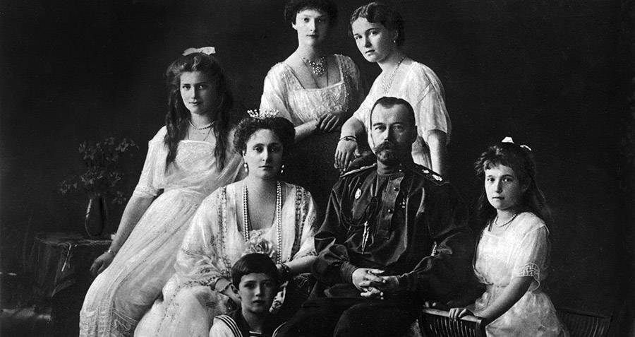 Grand Duchess Anastasia And The Romanov Family