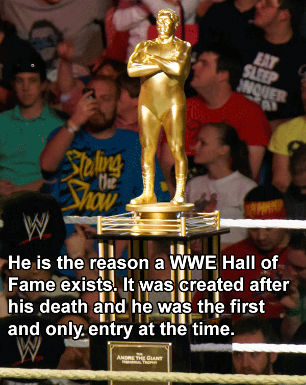 Andre The Giant Trophy