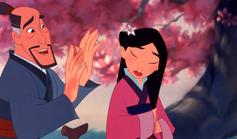 Animated Mulan