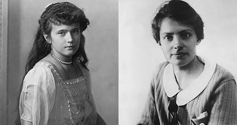 Grand Duchess Anastasia And Anna Anderson