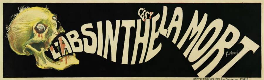 Anti Absinthe Poster