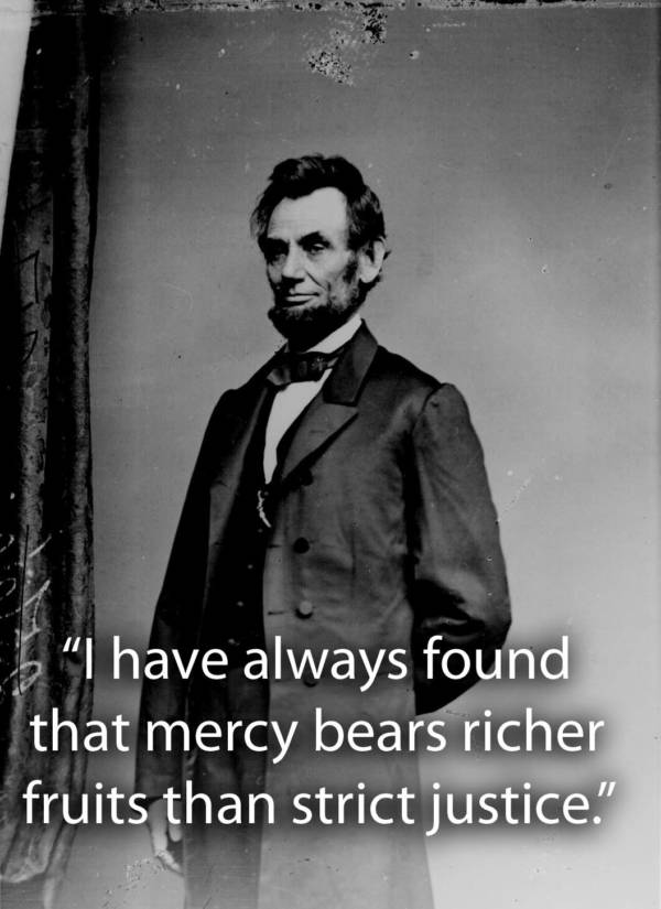 Lincoln Standing Up