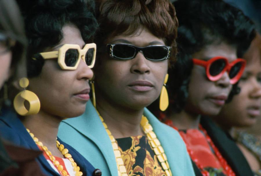 Audience Members In Sunglasses