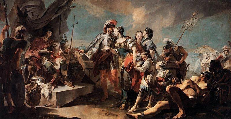 Aurelian Triumph Over Zenobia