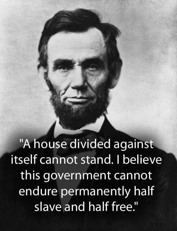 A House Divided Quote