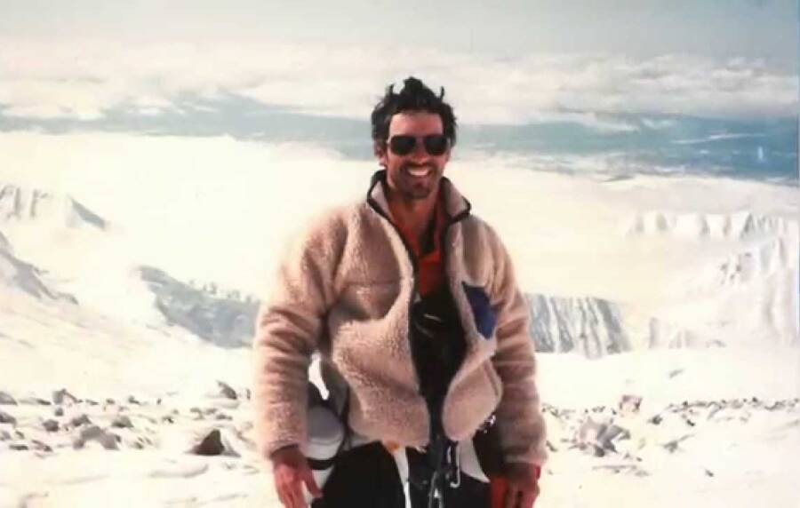 Beck Weathers During A Climb