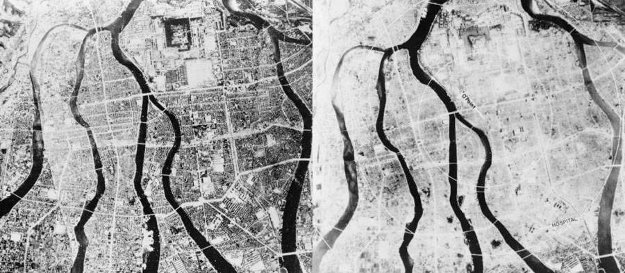 Before And After Hiroshima