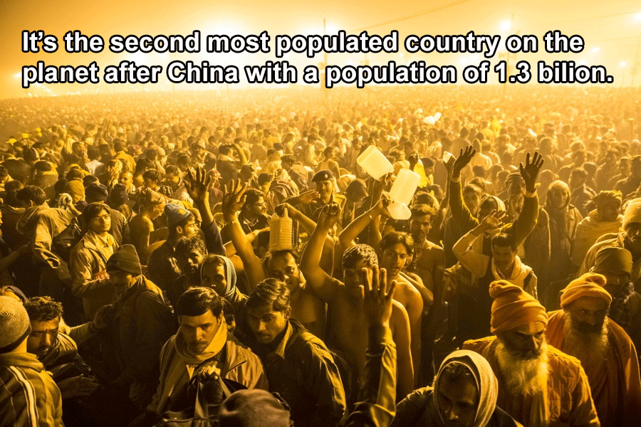 Interesting India Facts Population
