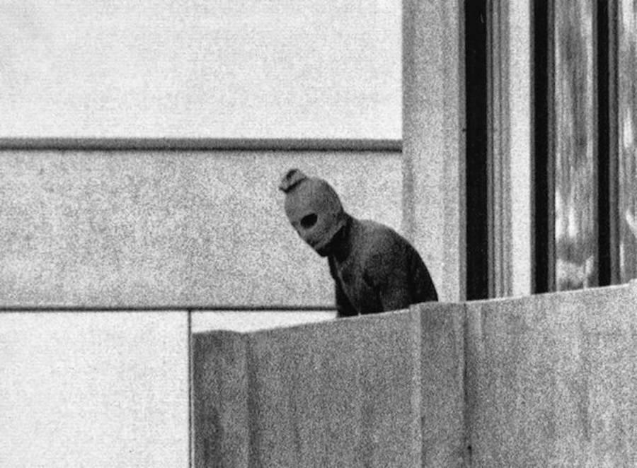 Black September Member During Munich Massacre