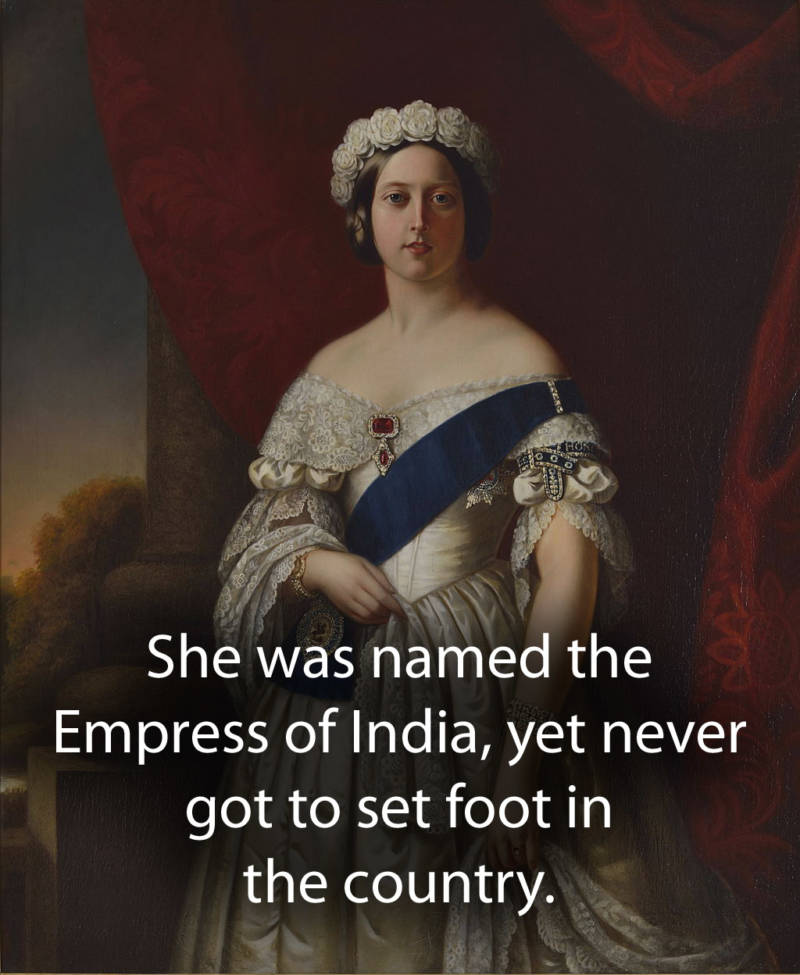 Queen Victoria Facts About India