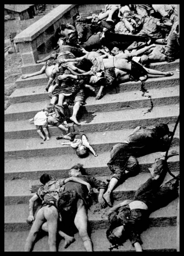 Bodies On The Stairs