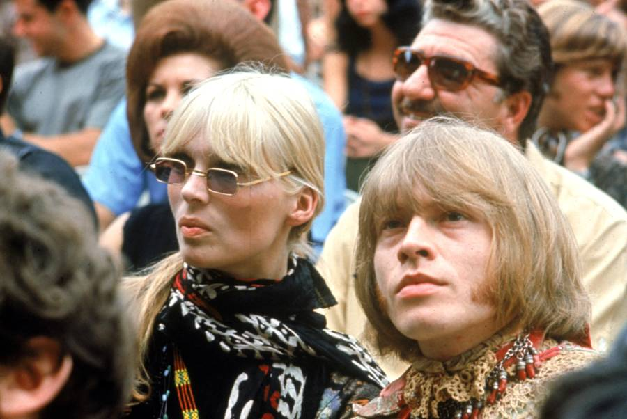 Brian Jones With Nico