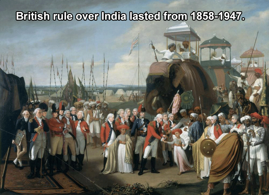British Rule Over India