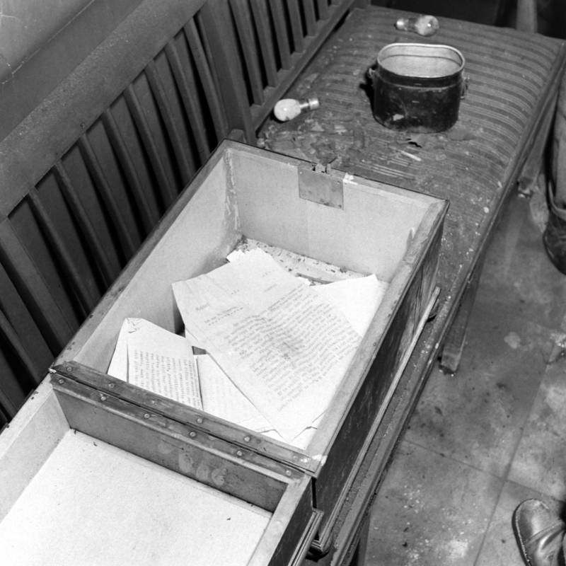 Bunker Box Of Papers