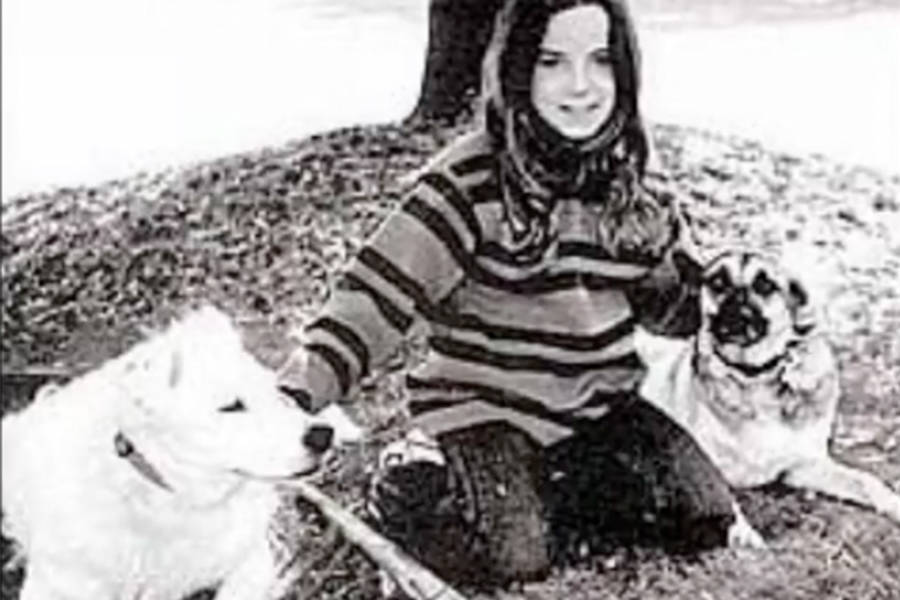 Candace Newmaker With Dogs