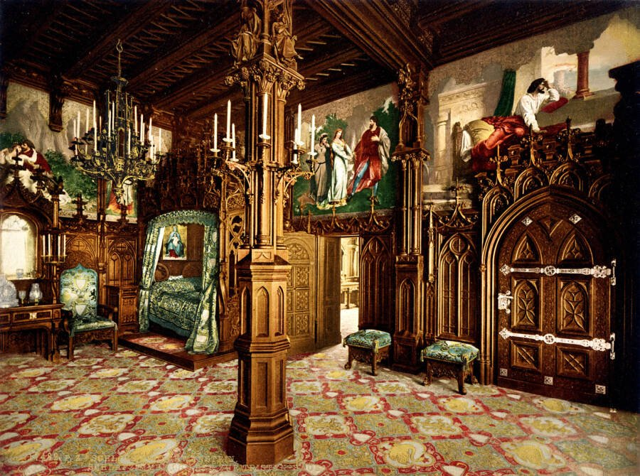 Inside The Neuschwanstein Castle