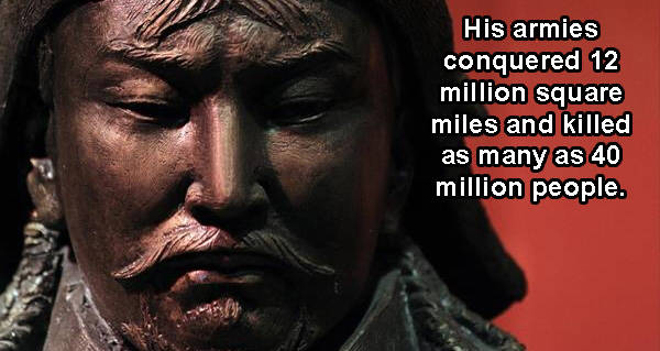 27 genghis khan facts about the mongol empires brutal ruler