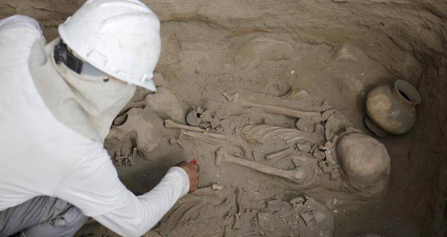 Dozens Of Tombs At Excavation Site In Peru Reveal Child Sacrifices