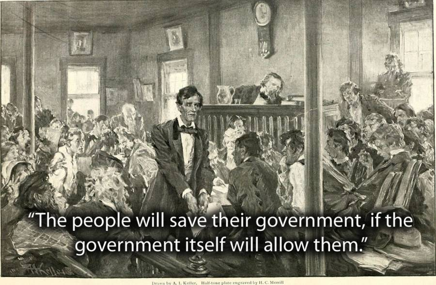 The People Will Save Their Government