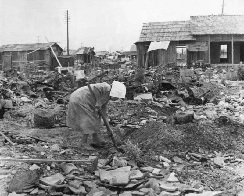 Bombing of hiroshima and the life conditions following it