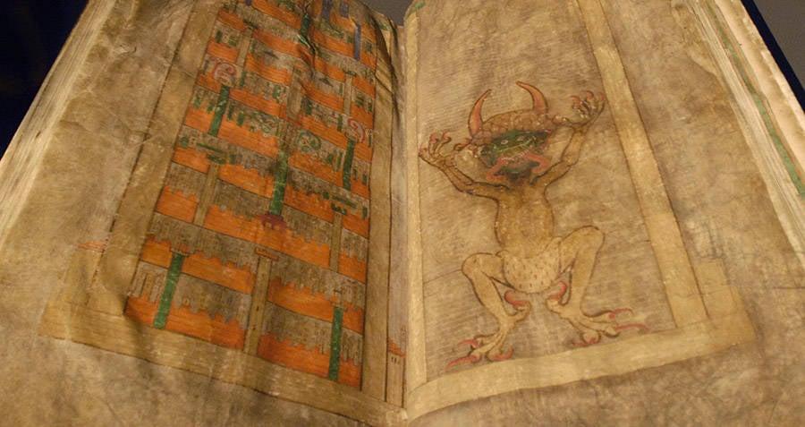 Codex Gigas Devils Bible
