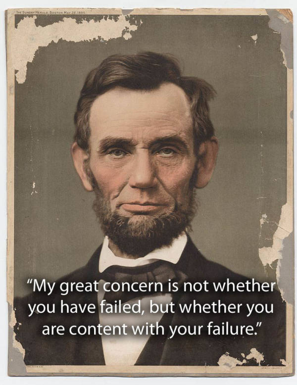 Inspirational Abraham Lincoln Quotes
