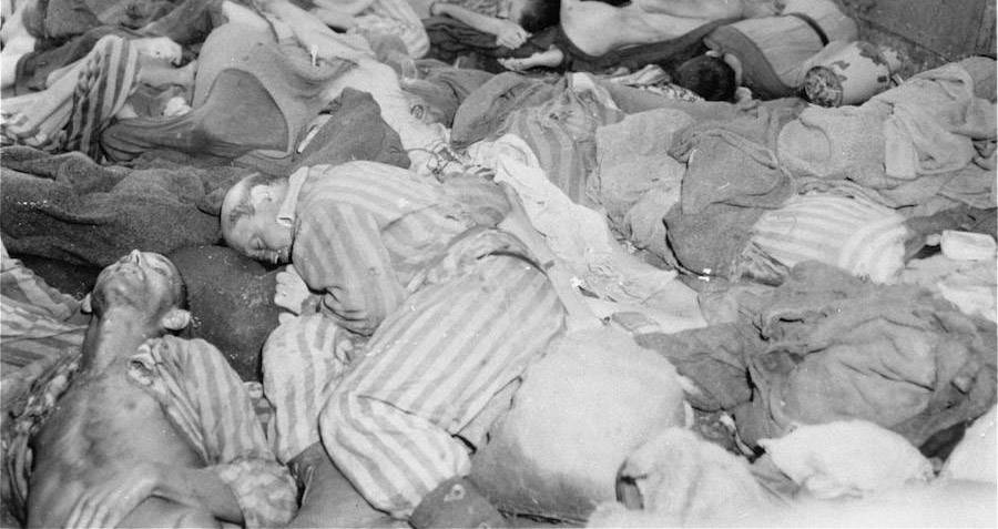 Dead Bodies At Dachau